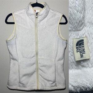 THENORTHFACE Womens Medium Fleece Zip Up Vest